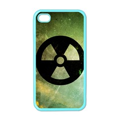 Radioactive Apple Iphone 4 Case (color)