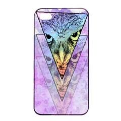 Owl Art Apple Iphone 4/4s Seamless Case (black)