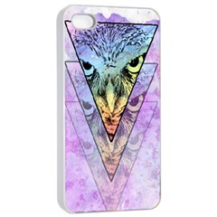 Owl Art Apple Iphone 4/4s Seamless Case (white) by Contest1775858