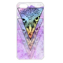 Owl Art Apple Iphone 5 Seamless Case (white)