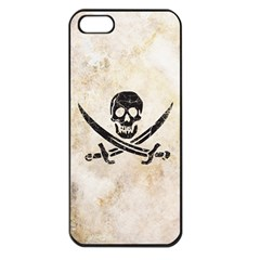 Pirate Apple iPhone 5 Seamless Case (Black) by Contest1775858