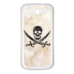 Pirate Samsung Galaxy S3 Back Case (white) by Contest1775858