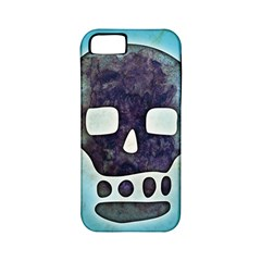 Textured Skull Apple Iphone 5 Classic Hardshell Case (pc+silicone)