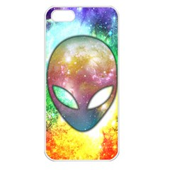 Space Alien Apple Iphone 5 Seamless Case (white)