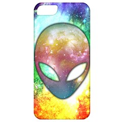 Space Alien Apple Iphone 5 Classic Hardshell Case