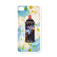 Spray Paint Apple Iphone 4 Case (white) by Contest1775858
