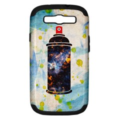 Spray Paint Samsung Galaxy S Iii Hardshell Case (pc+silicone) by Contest1775858