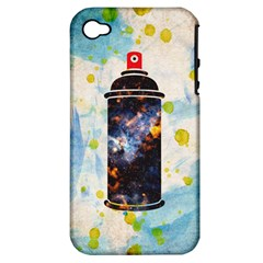 Spray Paint Apple Iphone 4/4s Hardshell Case (pc+silicone) by Contest1775858