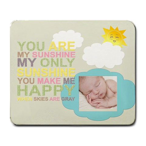 You Are My Sunshine Large Mouse Pad By Chatting   Large Mousepad   Tfuhi9vr4ba8   Www Artscow Com Front