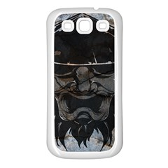 Stone Samurai Samsung Galaxy S3 Back Case (white) by Contest1775858