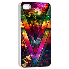 Triangles Apple Iphone 4/4s Seamless Case (white) by Contest1775858