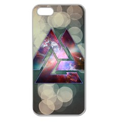 Triple Knot Apple Seamless iPhone 5 Case (Clear) by Contest1775858
