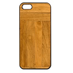 Wood Design Apple Iphone 5 Seamless Case (black)