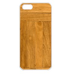 Wood Design Apple Iphone 5 Seamless Case (white)