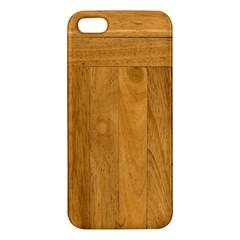 Wood Design Iphone 5 Premium Hardshell Case