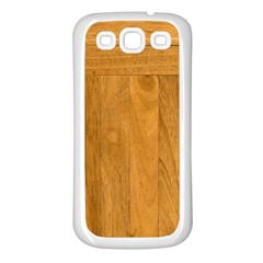 Wood Design Samsung Galaxy S3 Back Case (white)