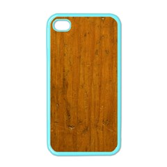 Dark Wood Apple Iphone 4 Case (color)