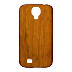 Dark Wood Samsung Galaxy S4 Classic Hardshell Case (pc+silicone)