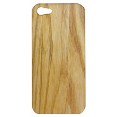 Light Wood Apple Iphone 5 Hardshell Case
