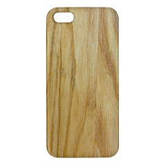 Light Wood Iphone 5 Premium Hardshell Case