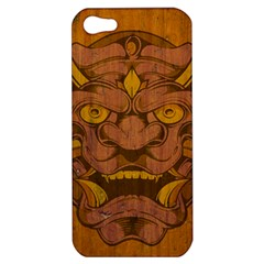 Demon Apple Iphone 5 Hardshell Case by Contest1775858