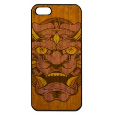Demon Apple Iphone 5 Seamless Case (black) by Contest1775858