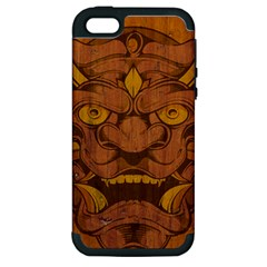 Demon Apple Iphone 5 Hardshell Case (pc+silicone) by Contest1775858