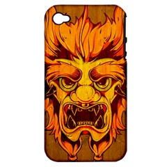 Oni Apple Iphone 4/4s Hardshell Case (pc+silicone) by Contest1775858
