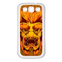 Oni Samsung Galaxy S3 Back Case (white) by Contest1775858
