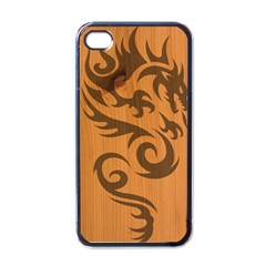 Tribal Dragon Apple Iphone 4 Case (black) by Contest1775858
