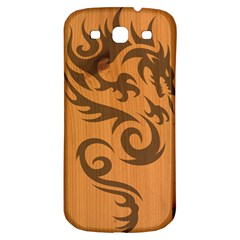 Tribal Dragon Samsung Galaxy S3 S Iii Classic Hardshell Back Case