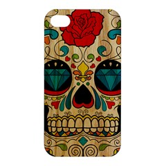 Sugar Skull Apple Iphone 4/4s Hardshell Case by Contest1775858