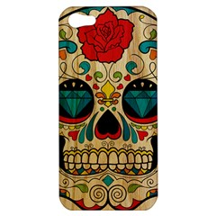 Sugar Skull Apple Iphone 5 Hardshell Case by Contest1775858