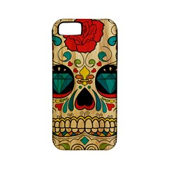 Sugar Skull Apple Iphone 5 Classic Hardshell Case (pc+silicone) by Contest1775858