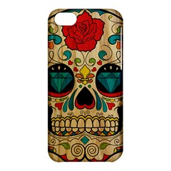 Sugar Skull Apple Iphone 5c Hardshell Case by Contest1775858