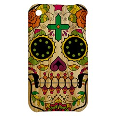 Sugar Skull Apple iPhone 3G/3GS Hardshell Case by Contest1775858