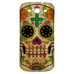 Sugar Skull Samsung Galaxy S3 S Iii Classic Hardshell Back Case by Contest1775858