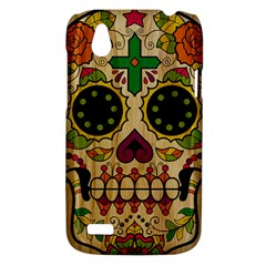 Sugar Skull HTC T328W (Desire V) Case by Contest1775858