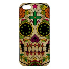 Sugar Skull Iphone 5 Premium Hardshell Case by Contest1775858