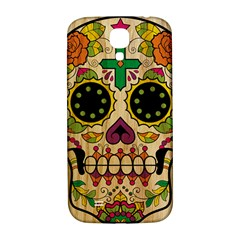 Sugar Skull Samsung Galaxy S4 I9500/i9505  Hardshell Back Case by Contest1775858