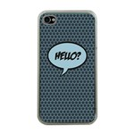Hello Apple iPhone 4 Case (Clear) Front