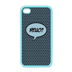Hello Apple Iphone 4 Case (color) by PaolAllen2
