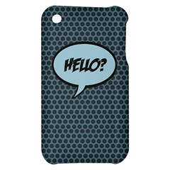 Hello Apple iPhone 3G/3GS Hardshell Case by PaolAllen2