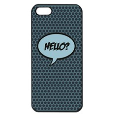 Hello Apple Iphone 5 Seamless Case (black)