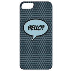 Hello Apple Iphone 5 Classic Hardshell Case