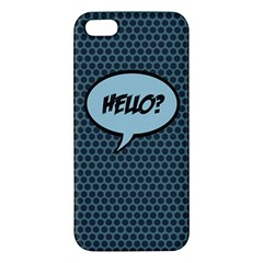Hello Iphone 5 Premium Hardshell Case by PaolAllen2