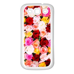 Stop & Smell The Iphone Samsung Galaxy S3 Back Case (white)