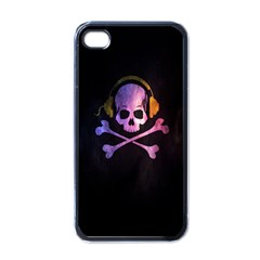 Rock Out With Your Skull Out    Apple Iphone 4 Case (black) by TheTalkingDead