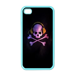 Rock out with your Skull out... Apple iPhone 4 Case (Color) by TheTalkingDead