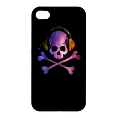Rock Out With Your Skull Out    Apple Iphone 4/4s Premium Hardshell Case by TheTalkingDead